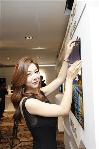 "LG ""Wallpaper"" OLED display"
