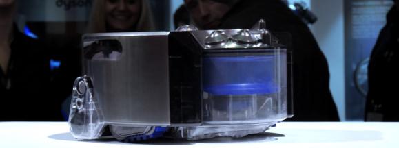 Dyson 360 eye robot vacuum hands on hero