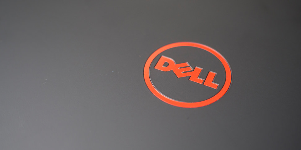 Dell Inspiron 15 7559 Red Logo