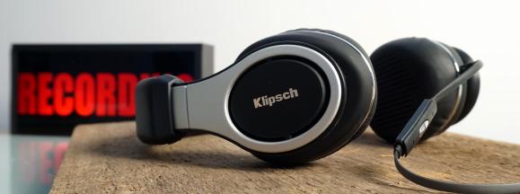 Klipsch reference on ears hero