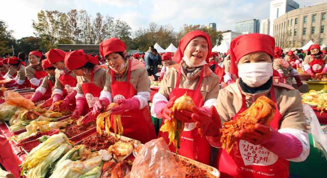 Kimchi Making and Sharing Festival 2014