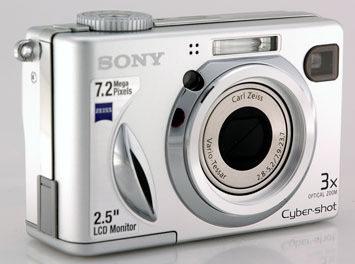 Product Image - Sony Cyber-shot DSC-W7