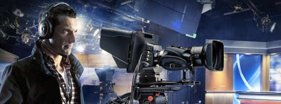 Blackmagic studio camera hero