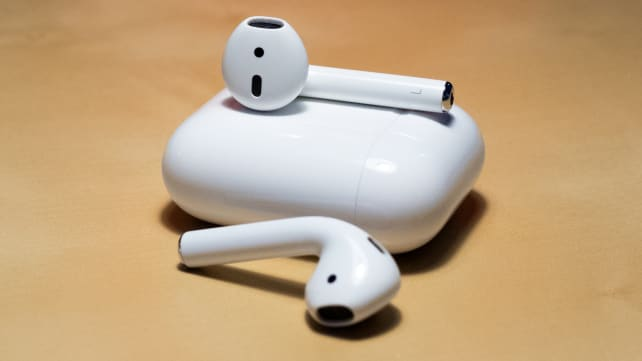 Apple AirPods On Table