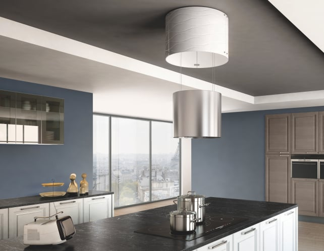 Faber Vanilla Retractable Range Hood