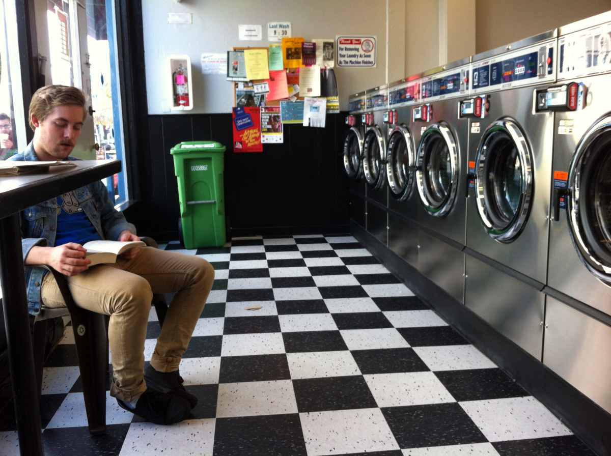 Laundry Industry Reacts As More Men Wash Their Own Clothes