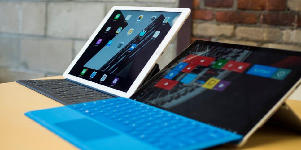 iPad Pro Smart Keyboard vs. Surface Pro
