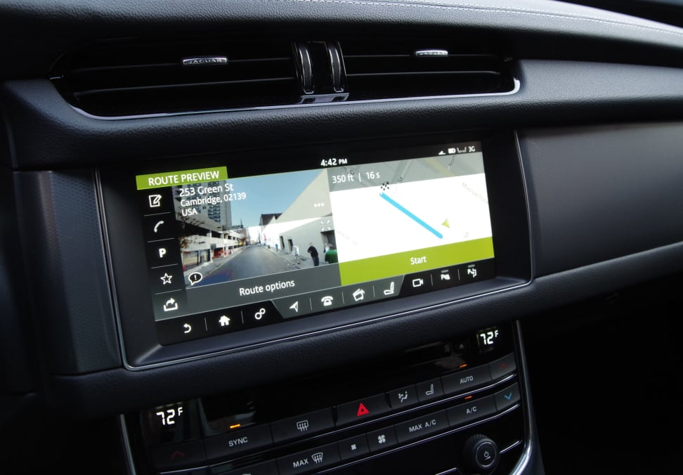 2017 Jaguar XF Diesel Navigation—Preview