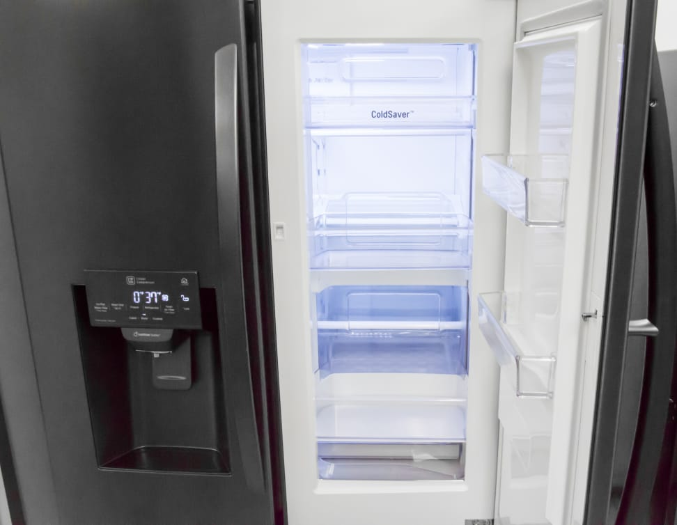 lg lfxs28566m french door refrigerator review refrigerators. Black Bedroom Furniture Sets. Home Design Ideas