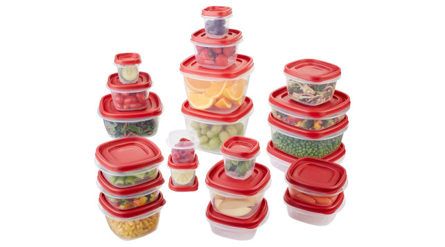 Rubbermaid Easy Lids Storage Set