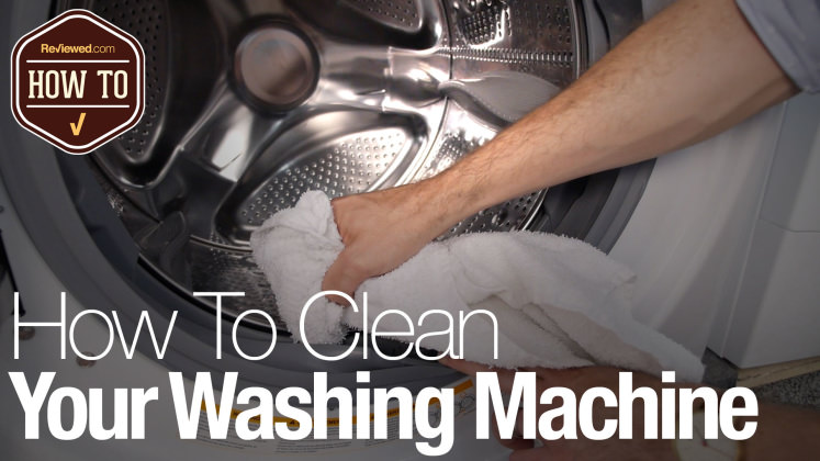 how to clean a smelly washing