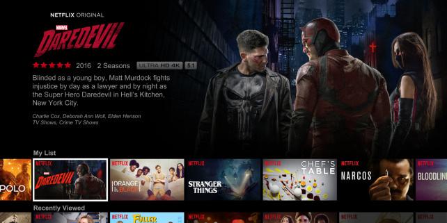Netflix Interface