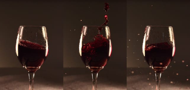 how to clean rose wine from carpet