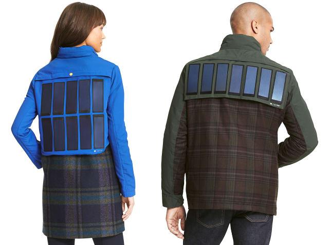 Tommy Hilfiger's solar panel jacket