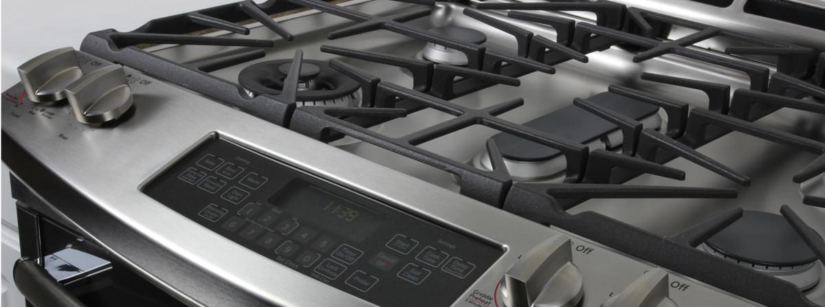 ge profile pgs920sefss slide in gas range review ovens. Black Bedroom Furniture Sets. Home Design Ideas