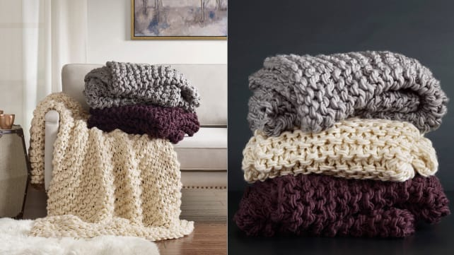 Target Chunky Knit Throw