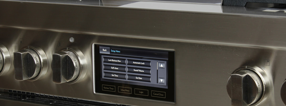 Jenn Air JDRP536WP 36 Inch Dual Fuel Range Ovens