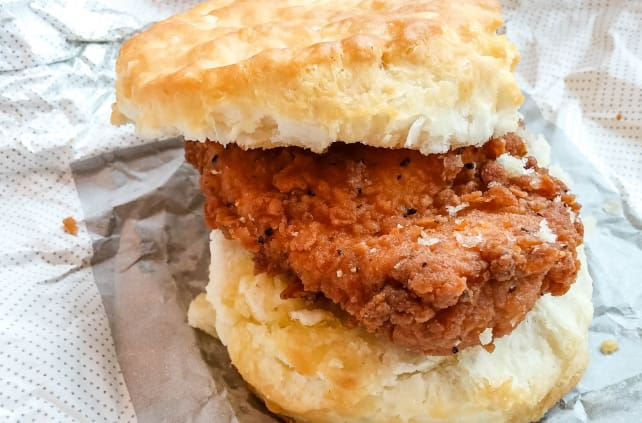 Chicken biscuit