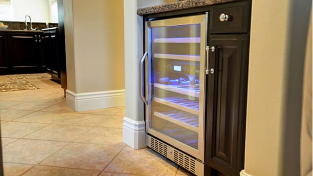Dual-Zone Built-In Compressor Wine Cooler