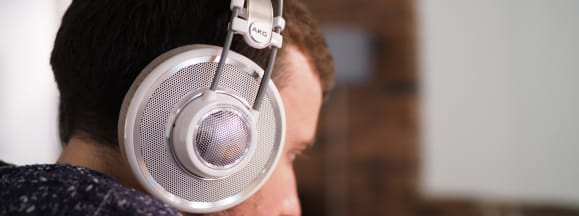 Akg k701 reference series on head