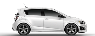 Product Image - 2013 Chevrolet Sonic Hatchback RS Automatic
