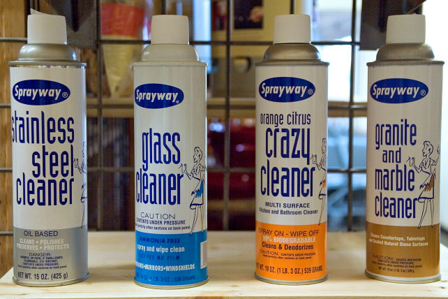 Sprayway Cleaners