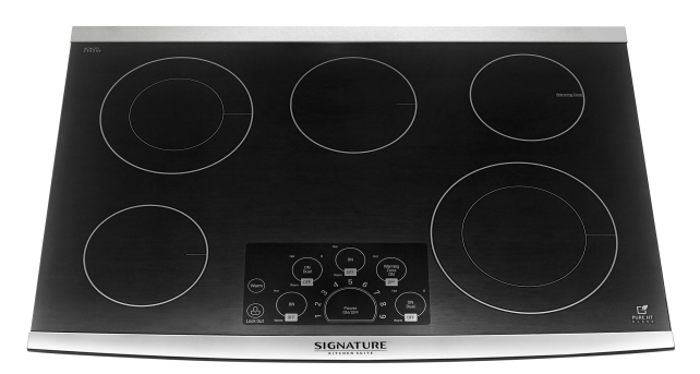LG Signature 30-inch UPCE3064ST Electric Cooktop