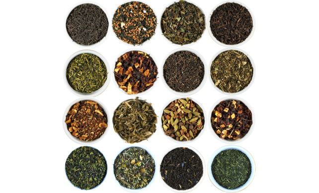 Beantown Tea & Spices Gourmet Loose Leaf Tea Sampler