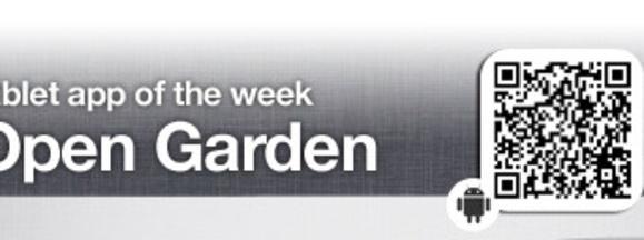 Open garden banner