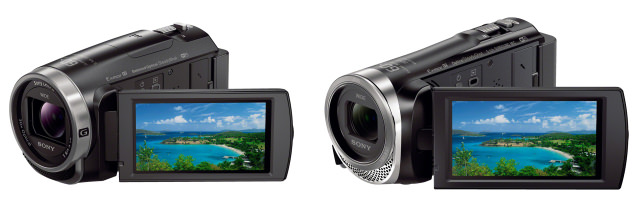 Sony HDR-CX675 & HDR-CX455 Camcorders