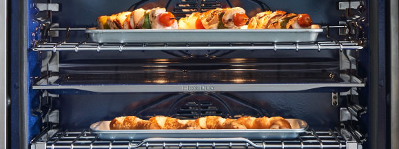 Samsung triple wall oven divider hero